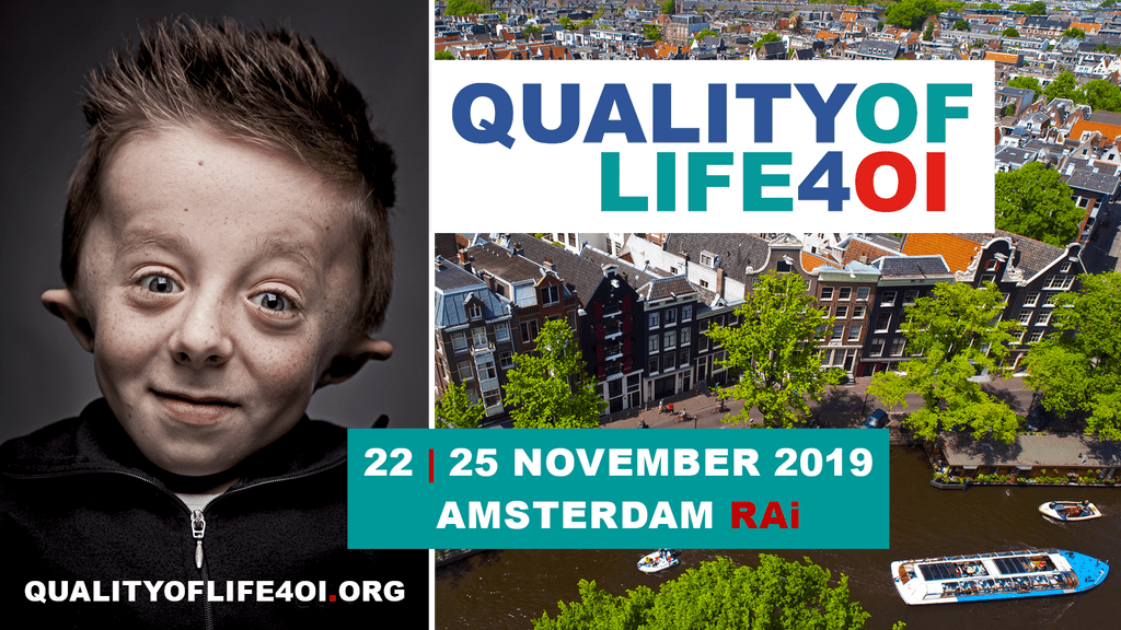 Quality of Life 4 OI, the conference on quality of life with Osteogenesis Imperfecta