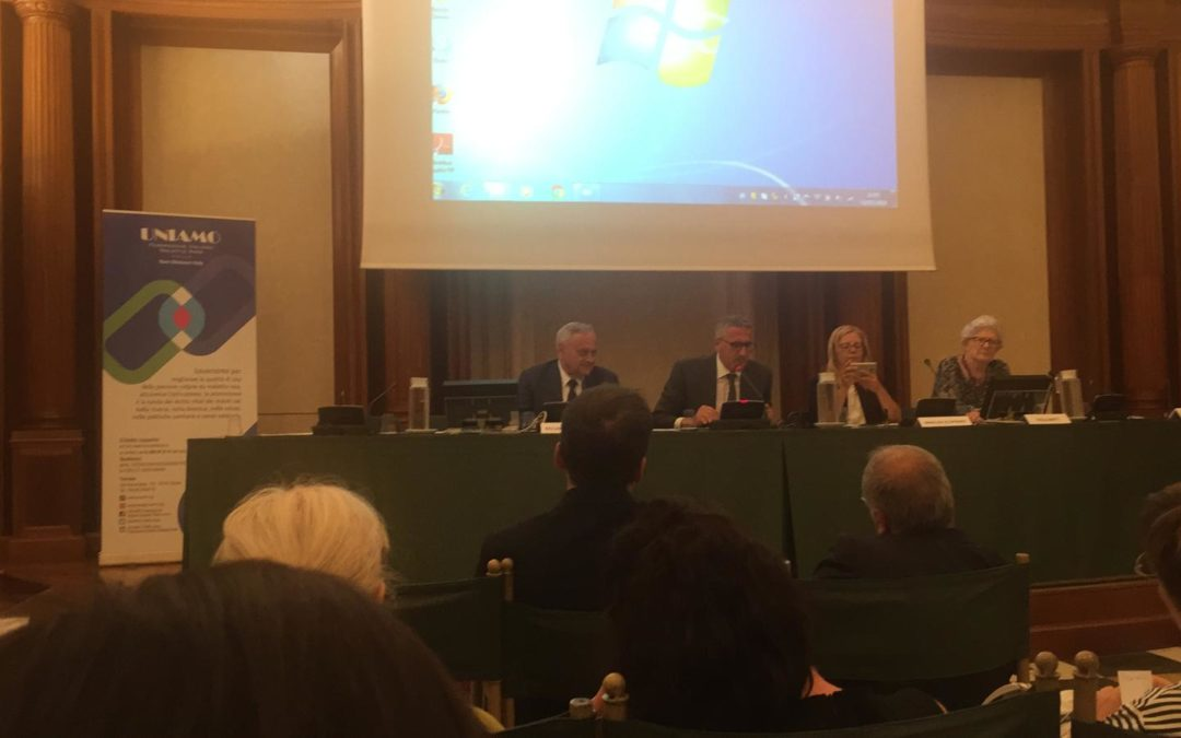Presentation of the report MonitoRare of UNIAMO